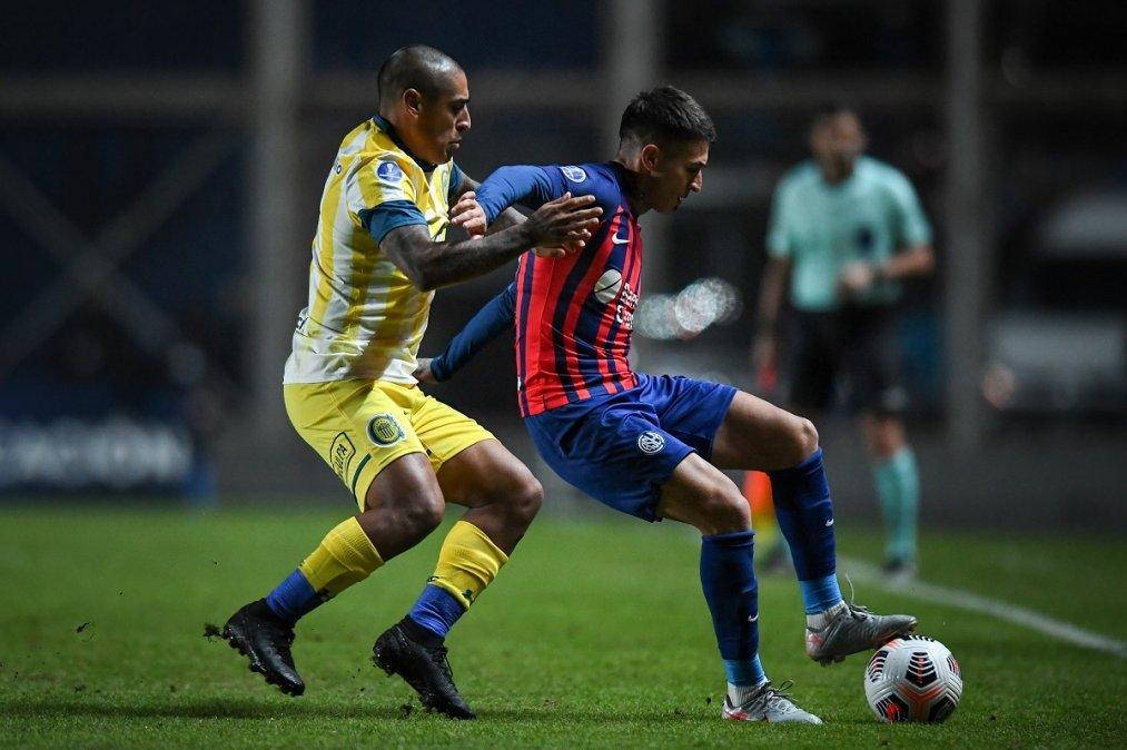 Rosario Central ganó en el Nuevo Gasómetro y dejó afuera de la competencia a San Lorenzo.