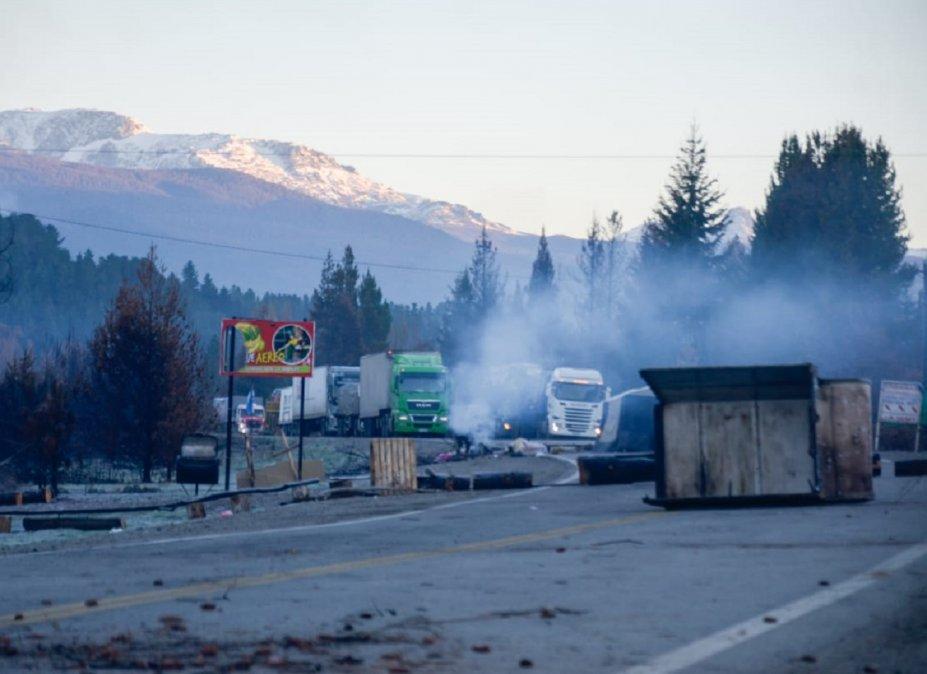 Corte de Ruta 40: No son vecinos de la zona y solo buscan conflicto y caos