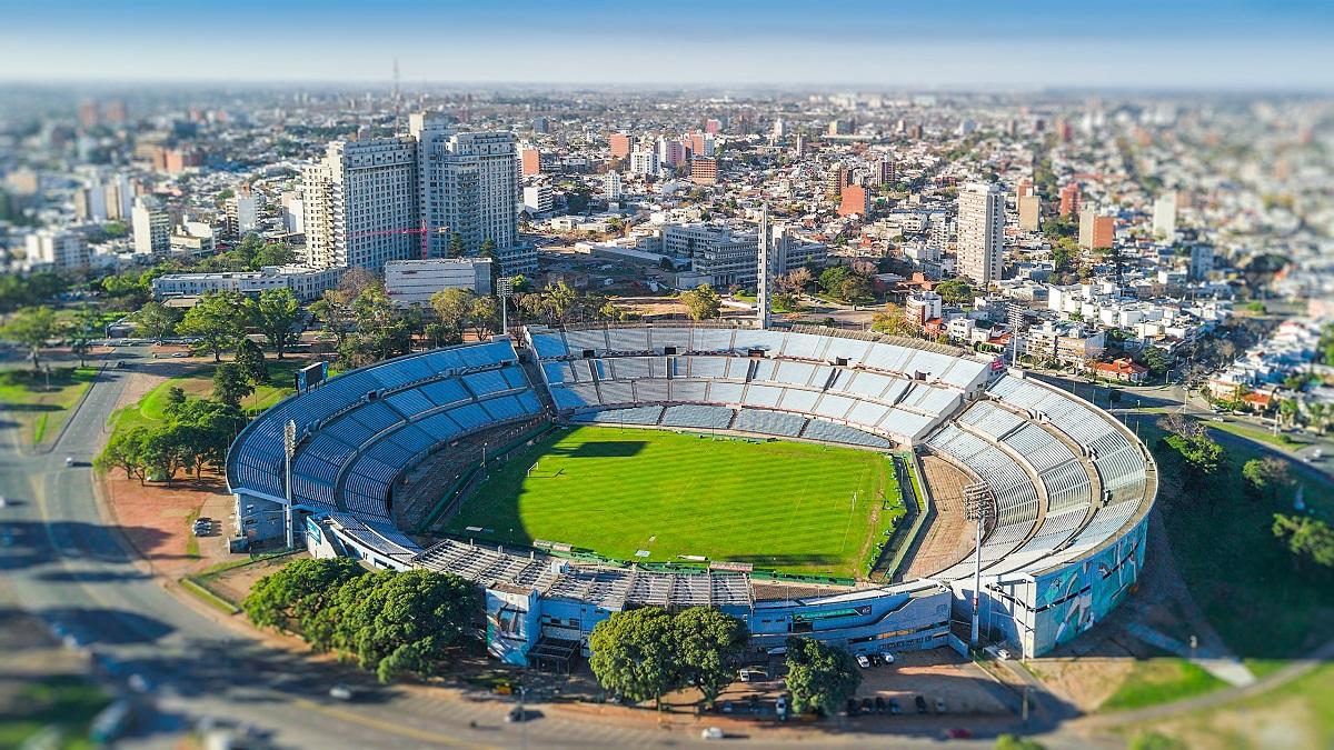 Estadio Centenario de Montevideo.
