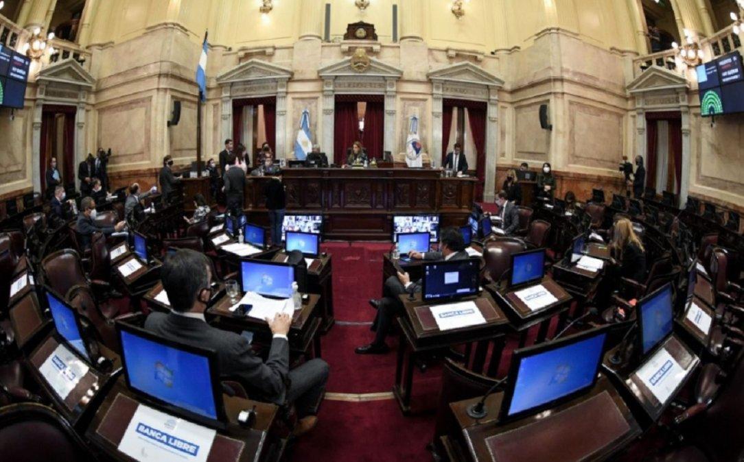El Senado convalidó tres decretos del presidente Alberto Fernández y se generó una discusión por la situación de Formosa.