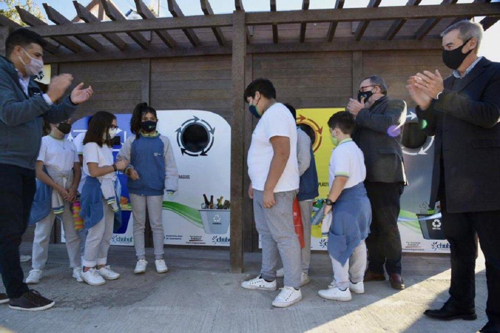 Se inauguró en Sarmiento el primer Ecopunto