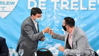Arroyo visitó Trelew y resaltó el desarrollo social en la ciudad
