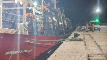 Intervino la Justicia Federal porque el barco entró sin autorización