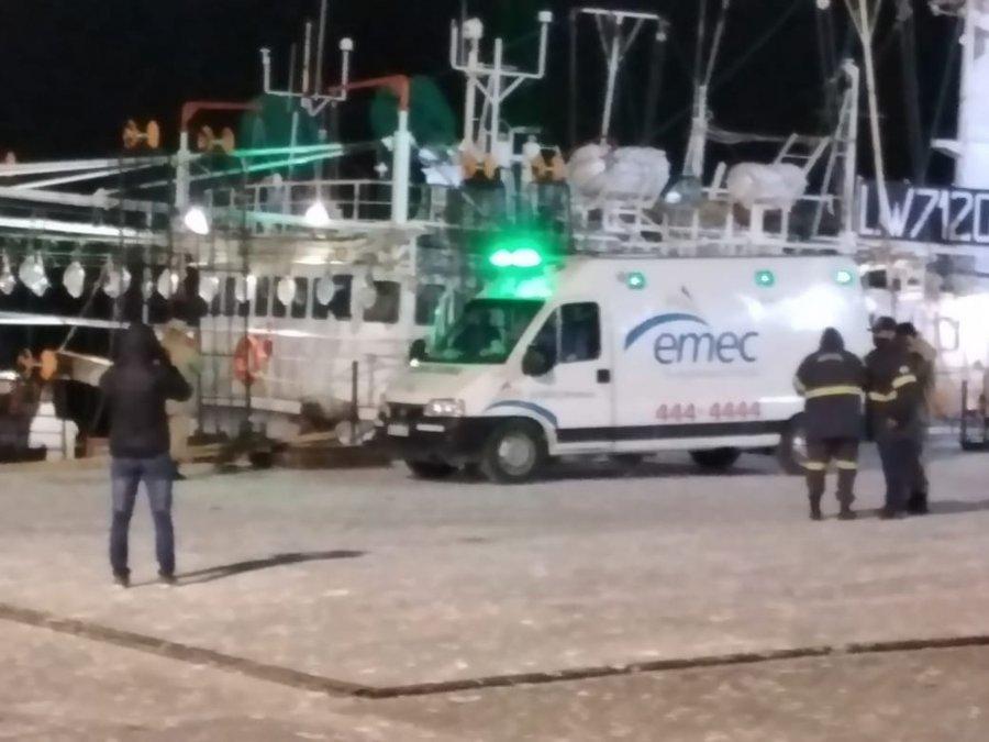 Dos de los marineros infectados fueron internados