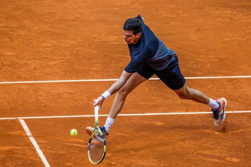 Delbonis cayó con Opelka y quedó eliminado del Masters 1000 de Roma