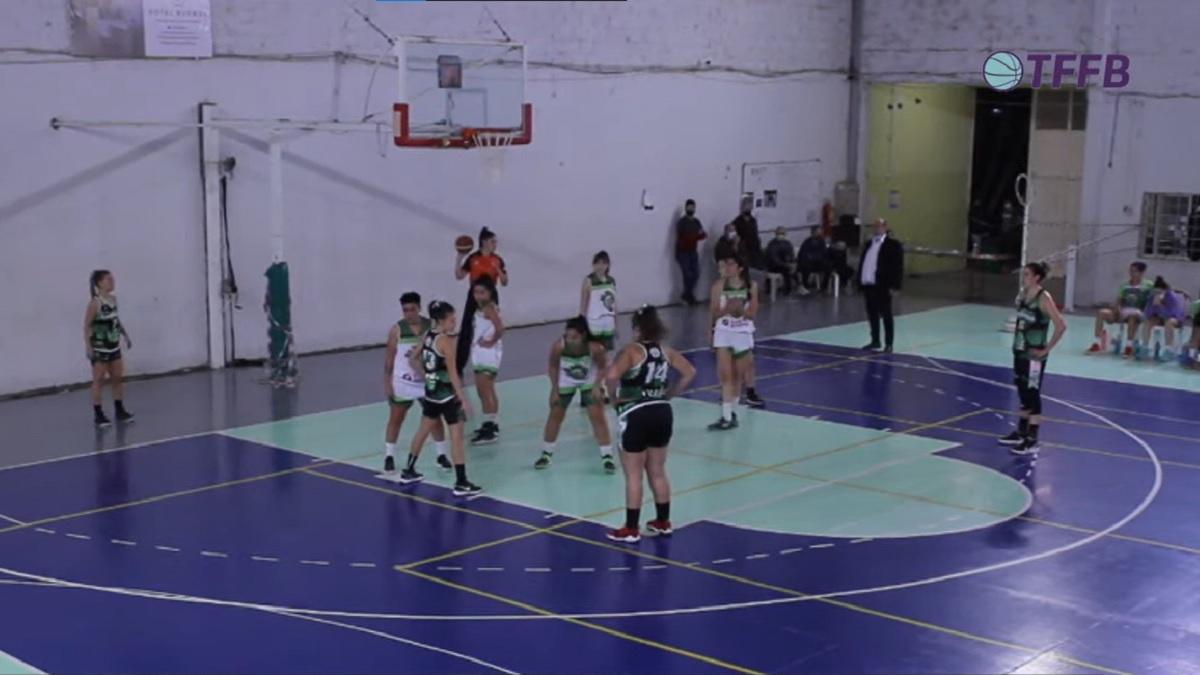 Gimnasia perdió con El Biguá en su primer partido en el Torneo Federal Femenino.