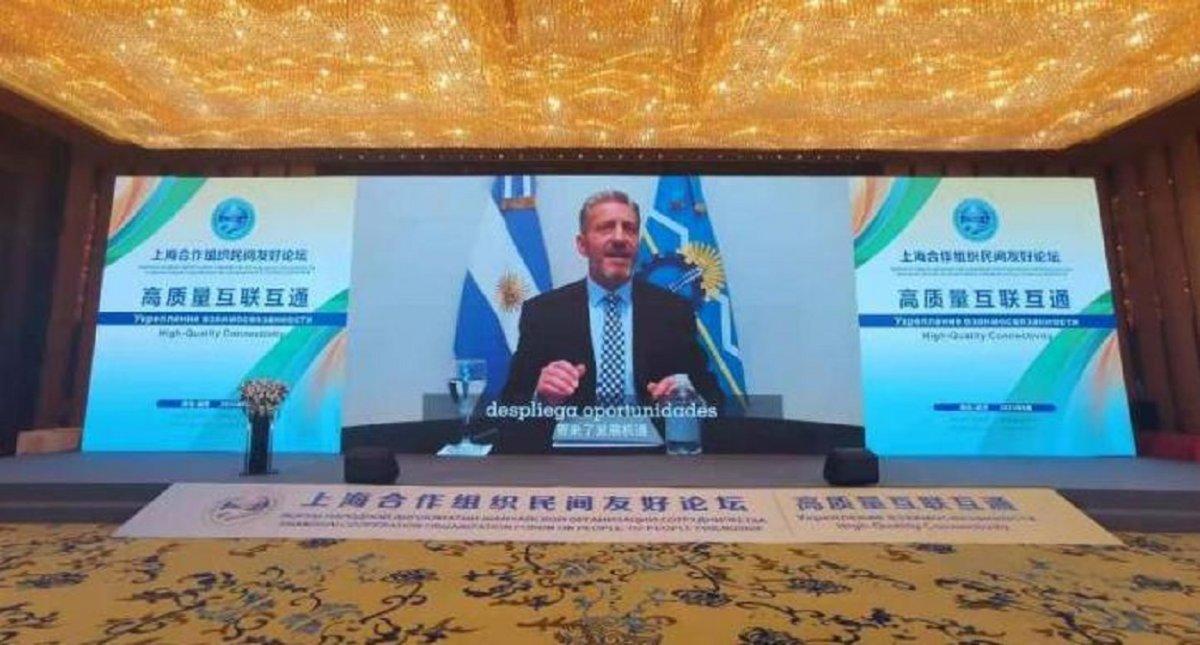 Arcioni participó en la cumbre Una ruta a China y destacó que Chubut es la segunda provincia en volumen de generación eólica de Argentina