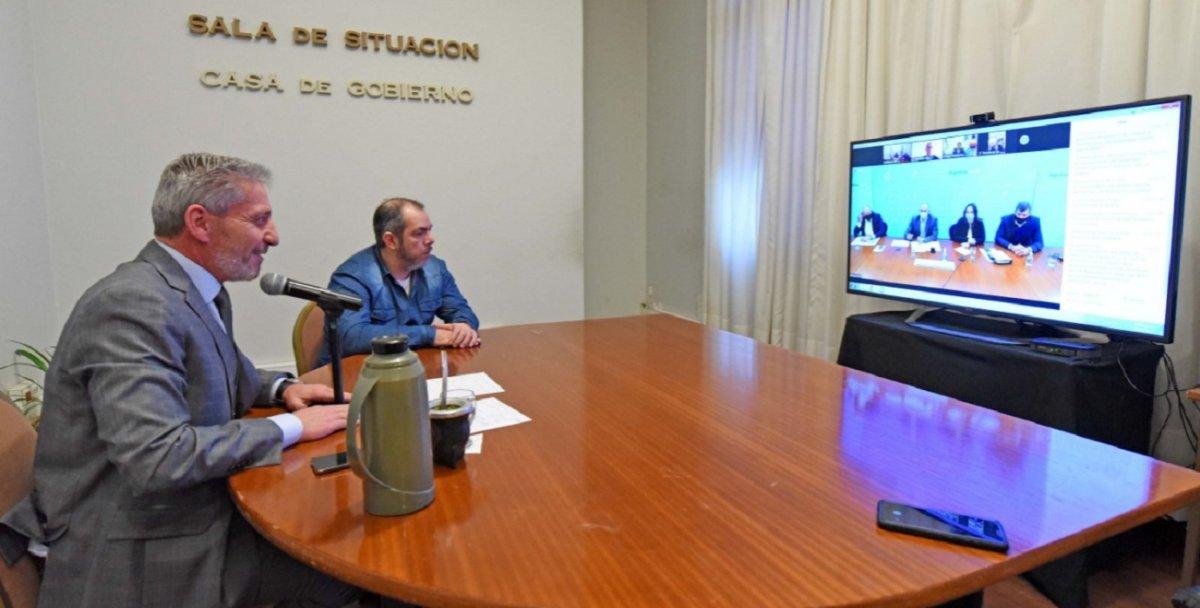 Arcioni participó de una reunión con el nuevo Ministro de Transporte