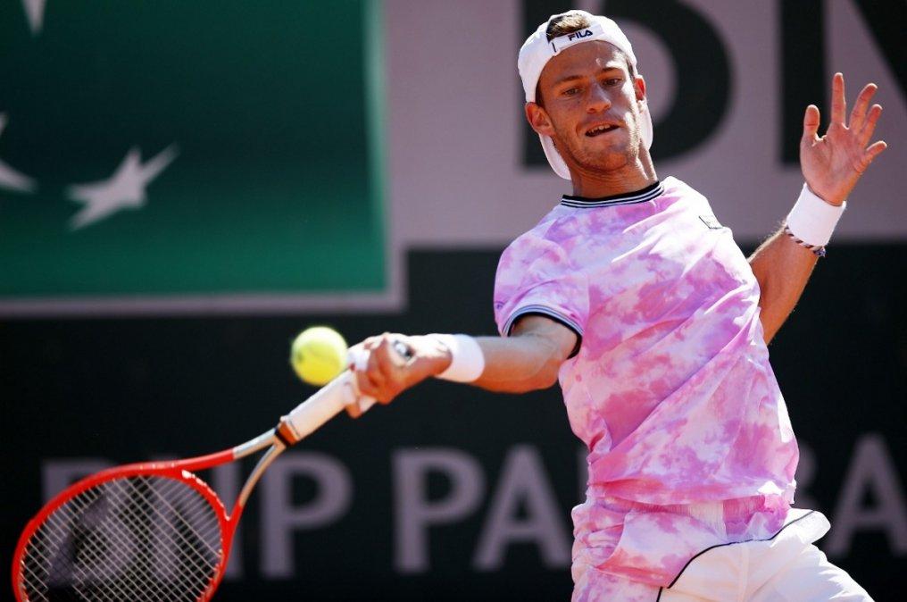 Schwartzman eliminó aBedene y está en tercera ronda de Roland Garros.
