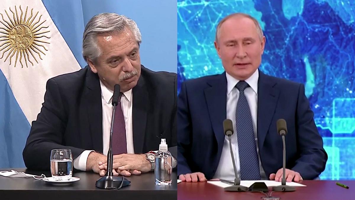 El presidente Alberto Fernández participará de una videoconferencia con Vladimir Putin