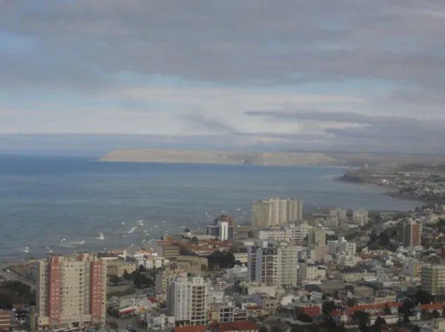 El viernes se presenta en Comodoro con cielo parcialmente nublado