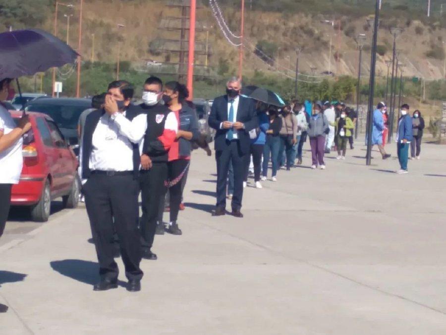 Actualmente Jujuy cuenta con297.356dosis distribuidas en toda la provincia.