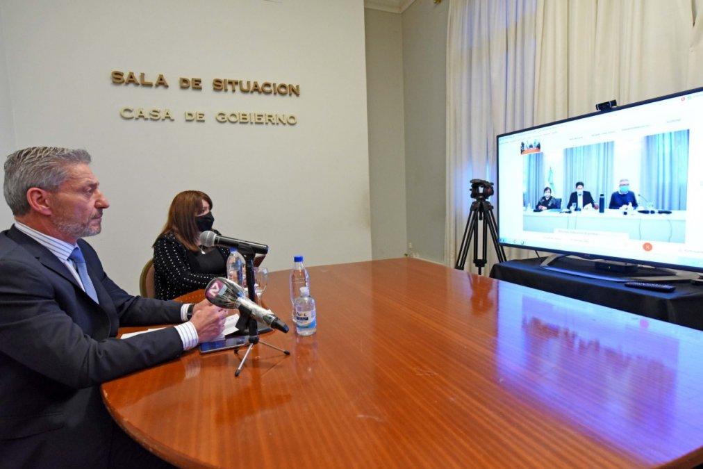 Arcioni celebró la creación del Centro de Políticas Educativas Federales.