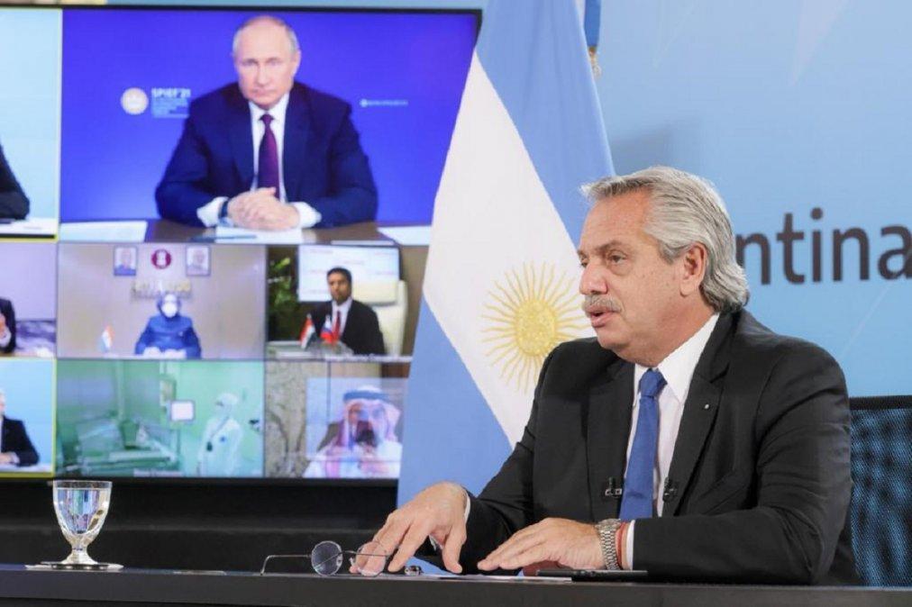 El presidente ruso dijo que han tenido un camino muy difícil en el proceso de producción y distribución de la vacuna.