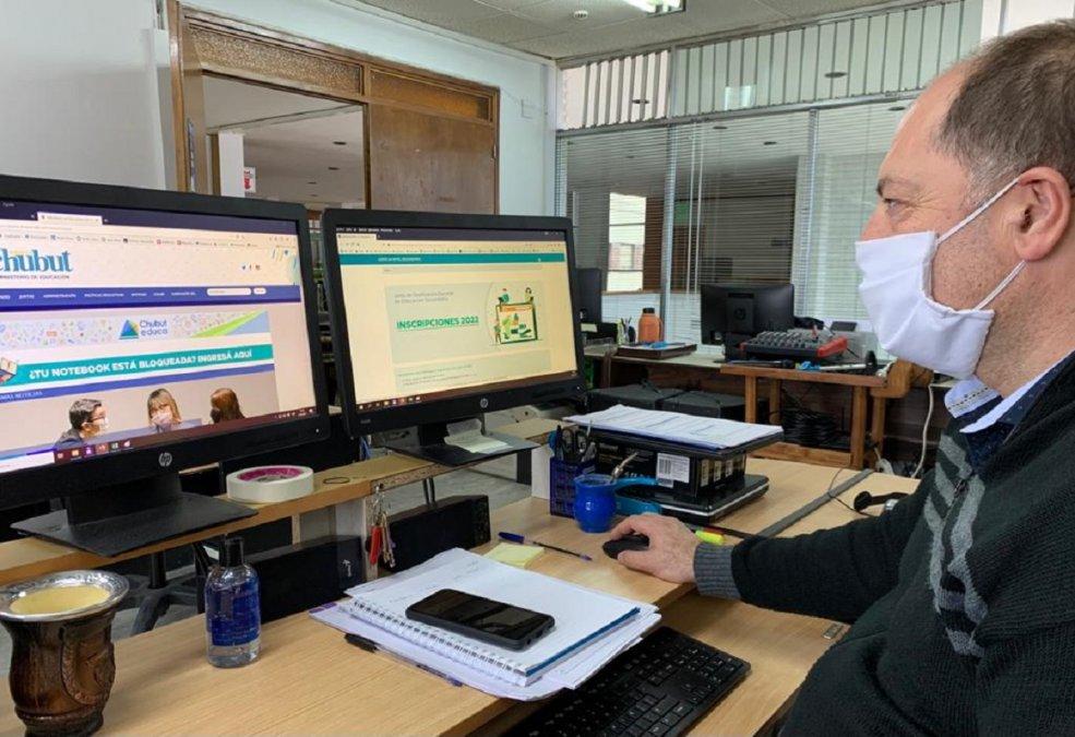 El Gobierno Provincial implementó la inscripción online para cargos docentes del ciclo lectivo 2022