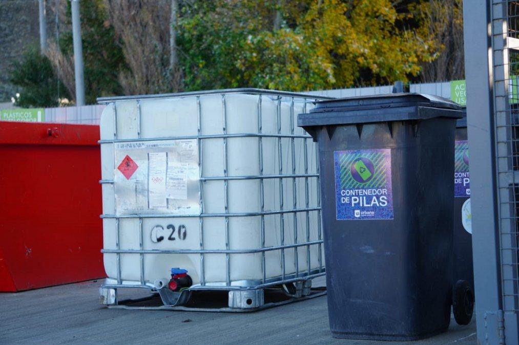 El municipio de Rada Tilly implementó la recolección de pilas de de aceite de cocina usado