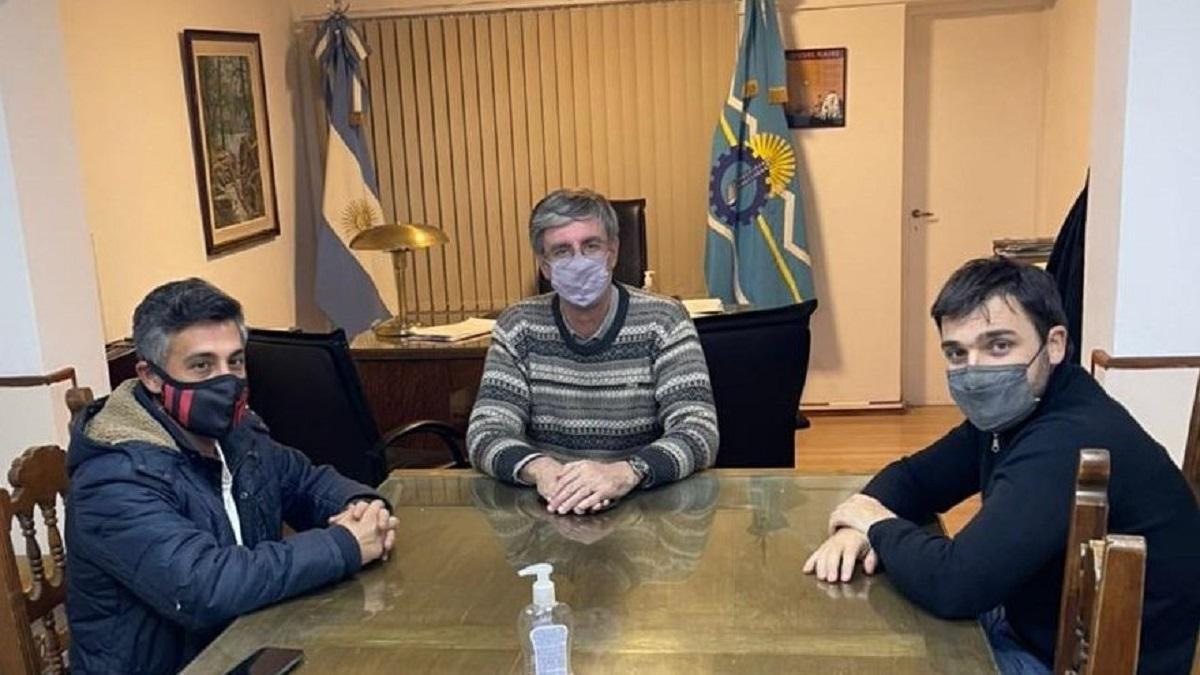 Nacho Torres se reunió con Ongarato y destacó la gestión de Esquel durante la pandemia