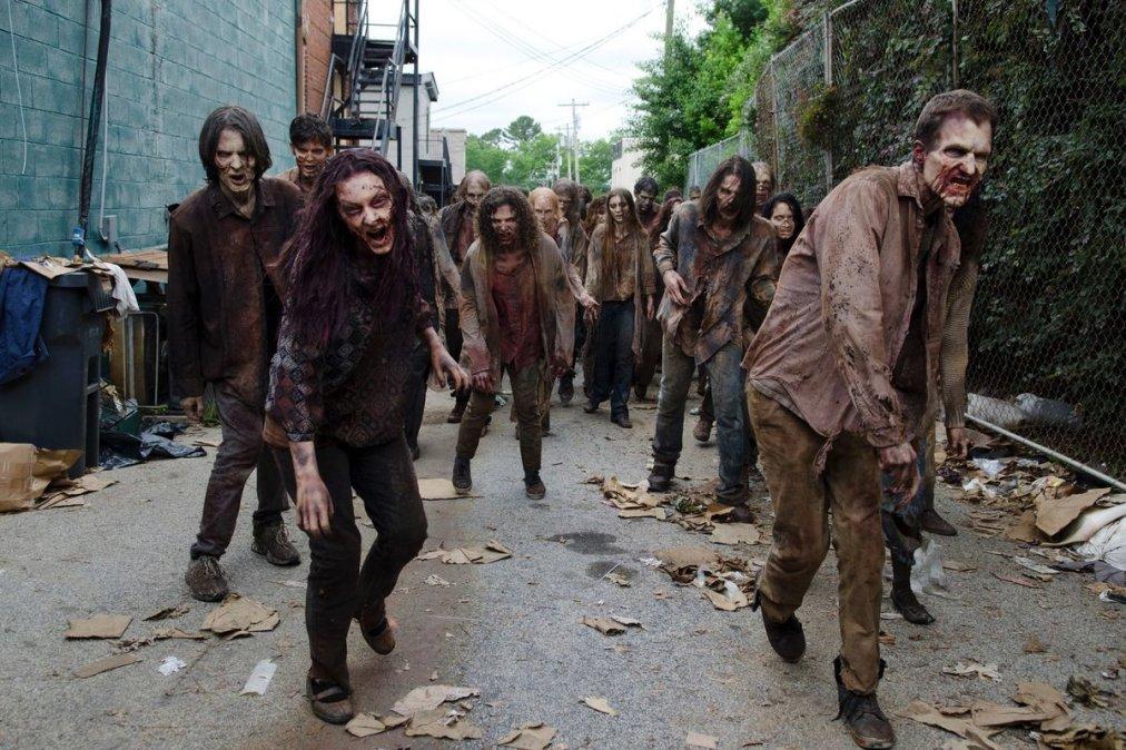 Cuando los zombies vienen marchando