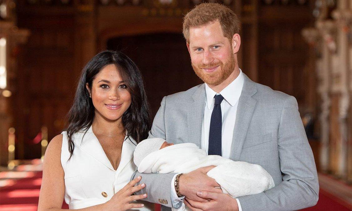 El Príncipe Harry y Meghan Markle reciben a su segunda hija
