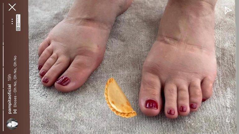 Pampita mostró como se ven sus pies durante su último mes de embarazo