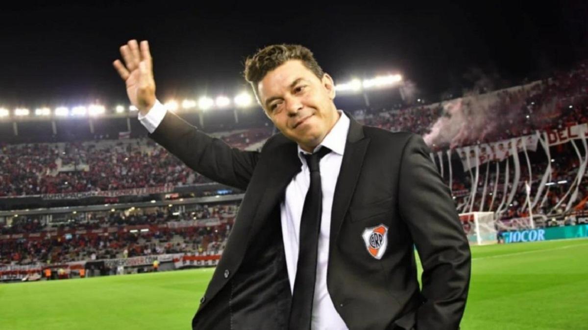 El 6 de junio de 2014 Gallardo regresó como técnico al club que lo vio nacer como futbolista.