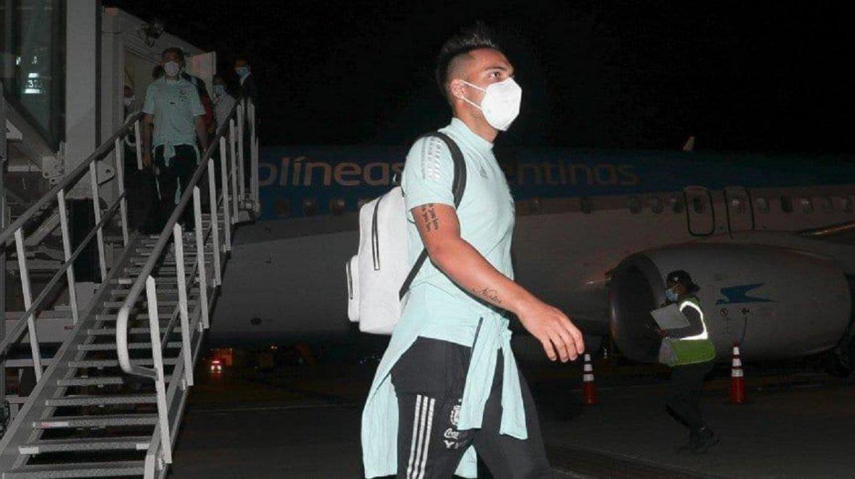 La Selección Argentina llegó a Colombia y este martes juega por la 8va fecha de las Elminatorias.