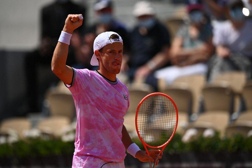 Schwartzman enfrentará a Nadal por los cuartos de final del Roland Garros.