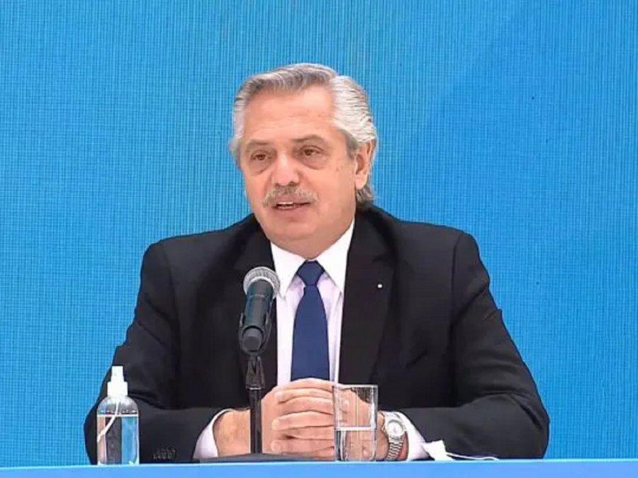 El presidente Alberto Fernández generó polémica por una cita que hizo para referirse al desarrollo de América.