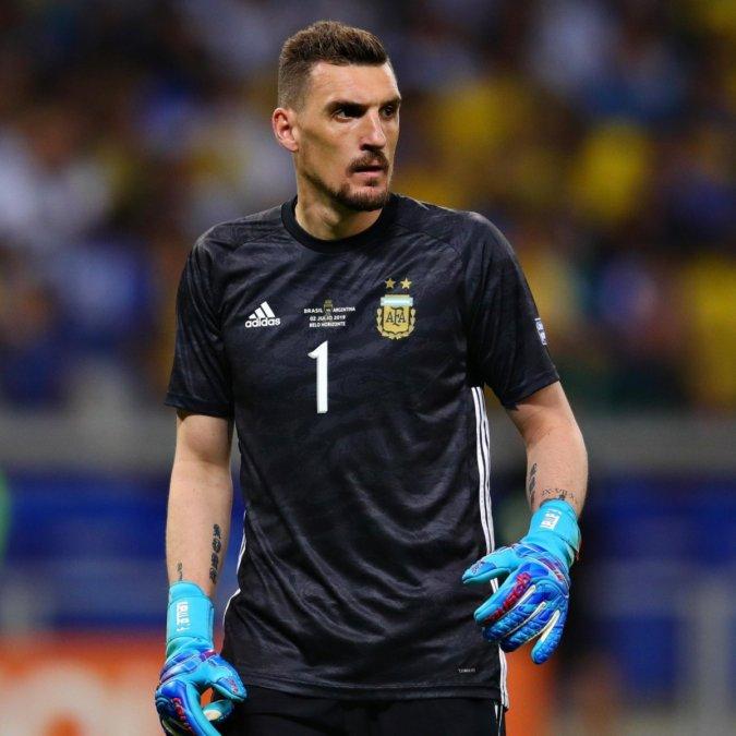 Franco Armani se podría perder la Copa América.