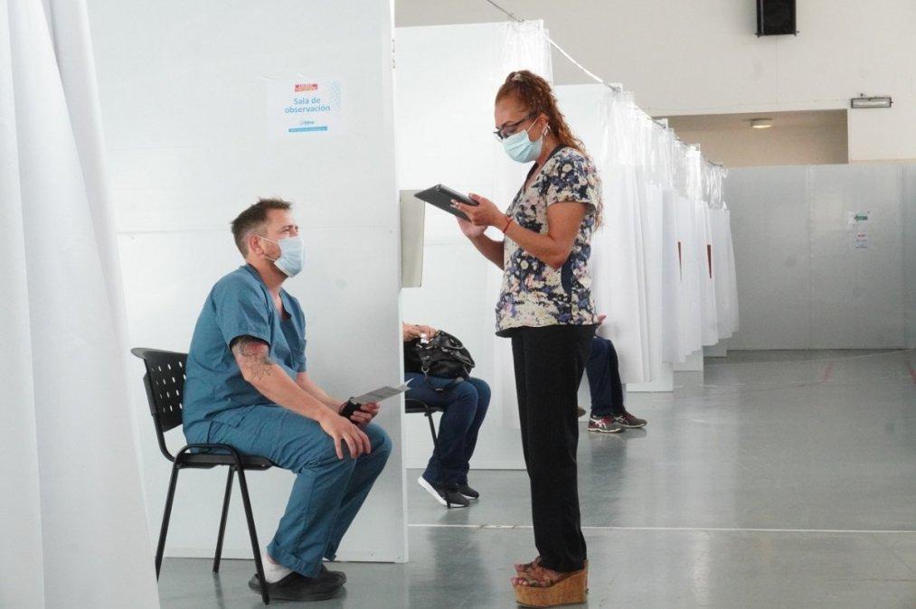 Avanza la Campaña de Vacunación Covid - 19 en Rada Tilly con más de 7000 dosis aplicadas.