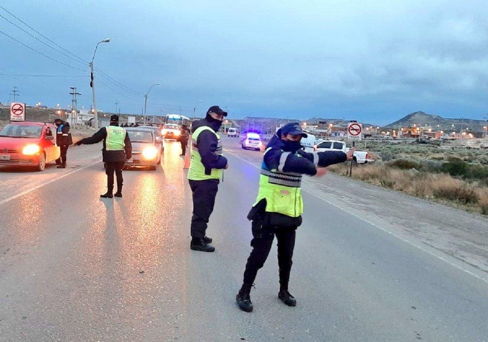La Agencia Nacional de Seguridad Vial detectó a 7 conductores bajo los efectos del alcohol en Chubut.