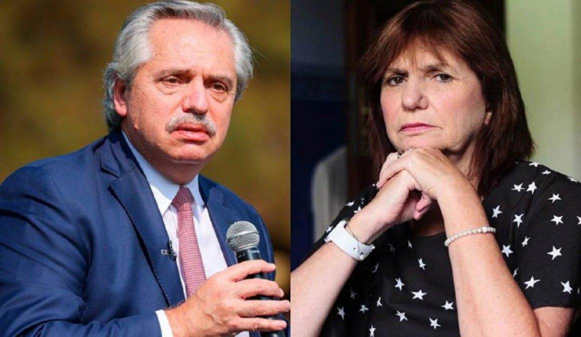 La mediación entre Fernández y Bullrich será el viernes