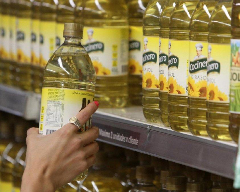 El aceite es uno de los productos que más subió en junio.