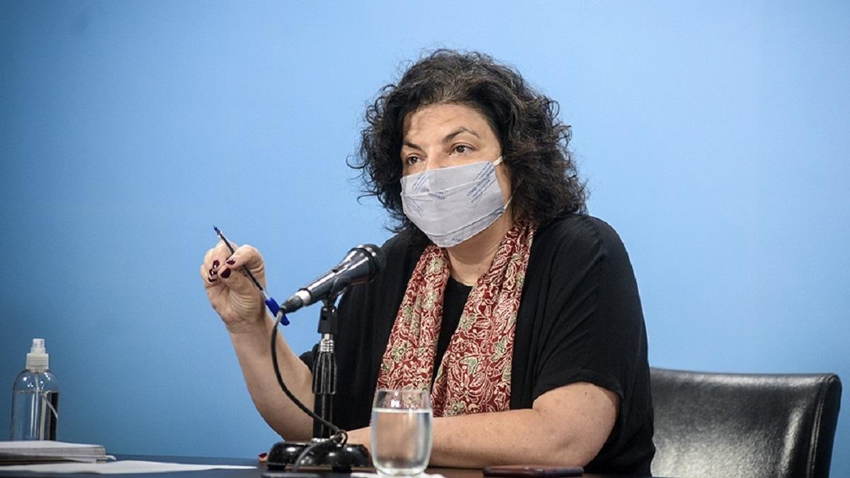 La ministra de Salud destacó que se ha llegado a las 20.667.000 vacunas recibidas.