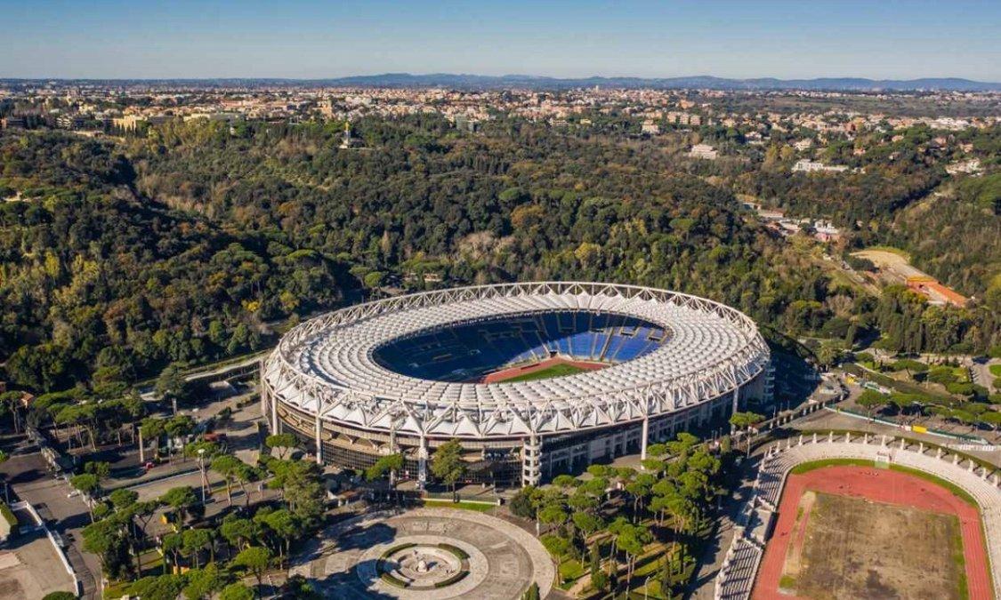 Desactivaron una bomba cerca del Estadio Olímpico de Roma.