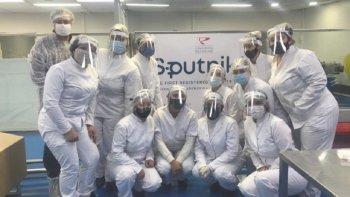 Ya están fabricadas las primeras 448.625 dosis de Sputnik Vida