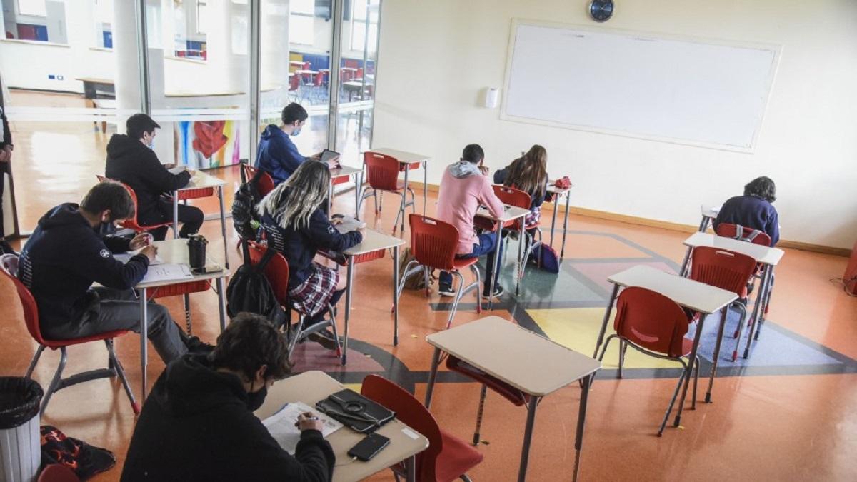 El próximo martes vuelven las clases presenciales en Chubut. (Imagen ilustrativa).