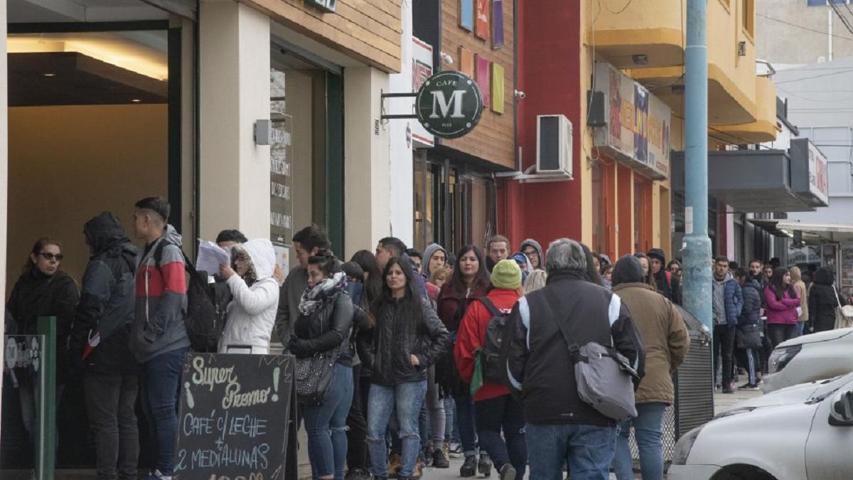El porcentaje de desocupación durante el primer trimestre de 2021 en el conglomerado Comodoro Rivadavia y Rada Tilly alcanzó el 4