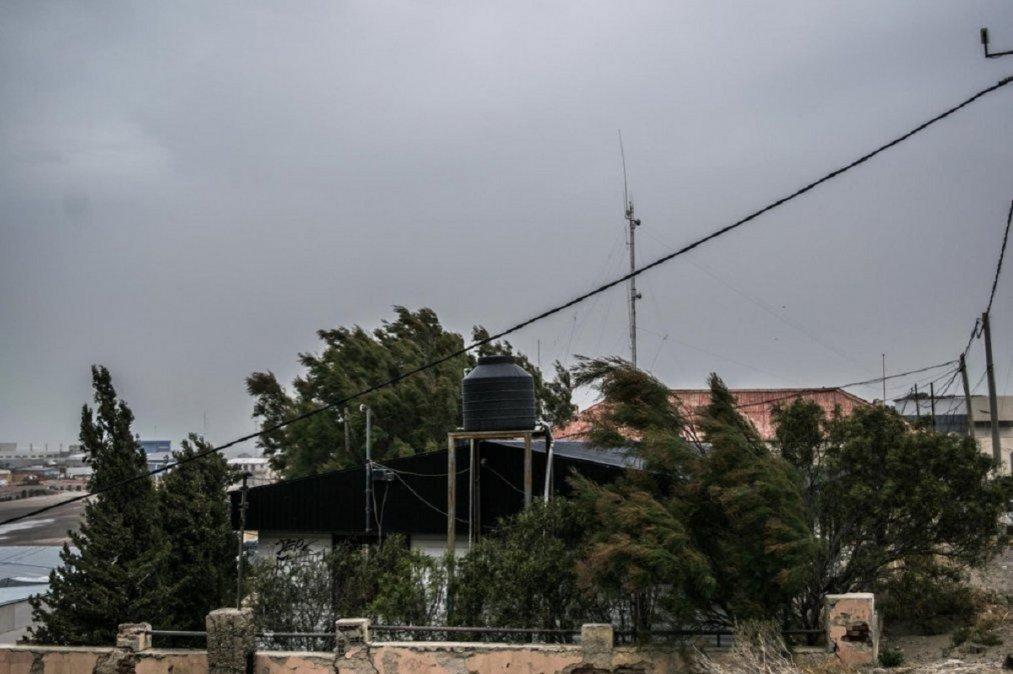 El SMN pronostica un sábado nublado y con viento para Comodoro.
