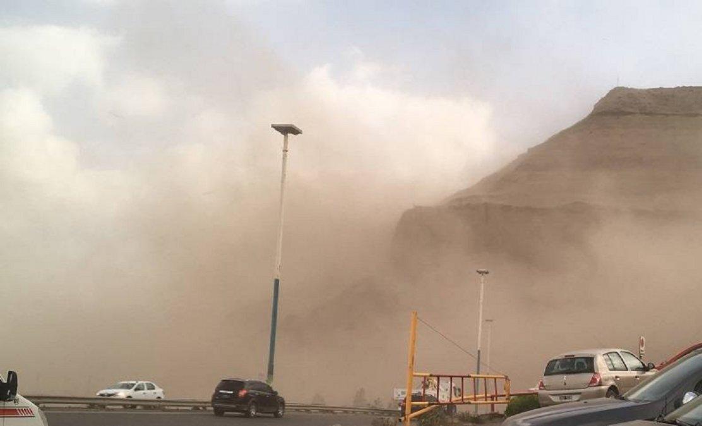 Hay alerta amarilla por vientos fuertes en Comodoro Rivadavia