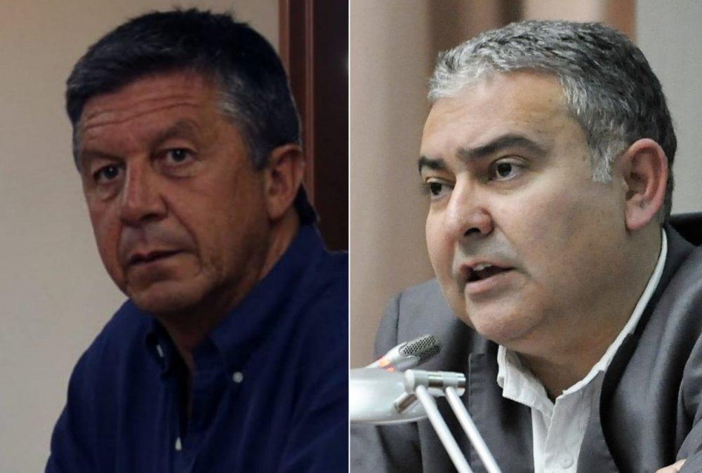 Pagliaroni mostró su apoyo a Menna en la previa de las elecciones