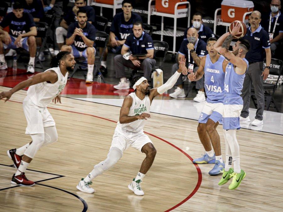Argentina cayó 94-71 con Nigeria en su segundo amistoso de preparación para los Juegos Olímpicos de Tokio.