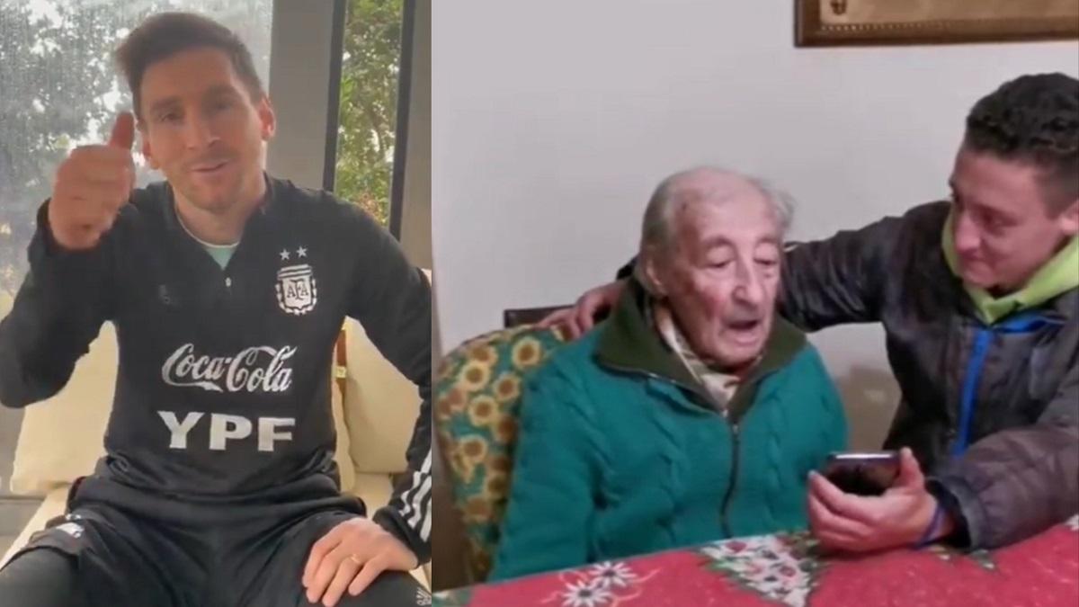 El terrible gesto de Messi con Don Hernán