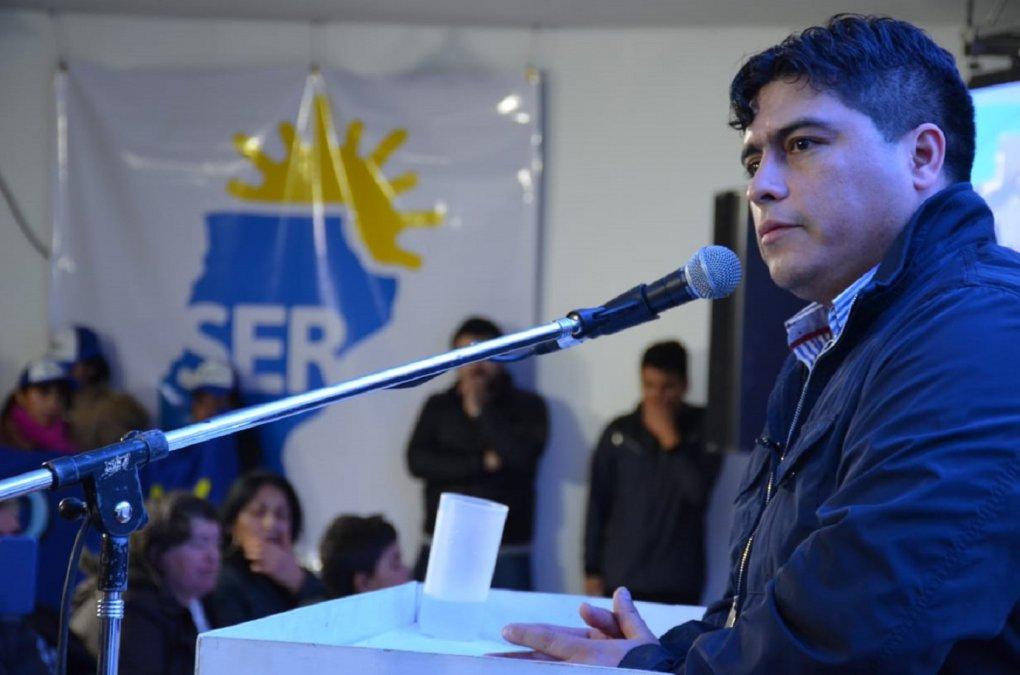 El secretario general del Sindicato de Petroleros Privados de Santa Cruz