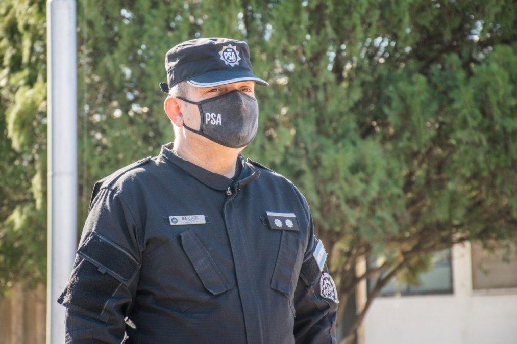 Autoridades del Ministerio de Seguridad y la PSA pusieron en funciones al nuevo jefe de la UOSP Rosario.