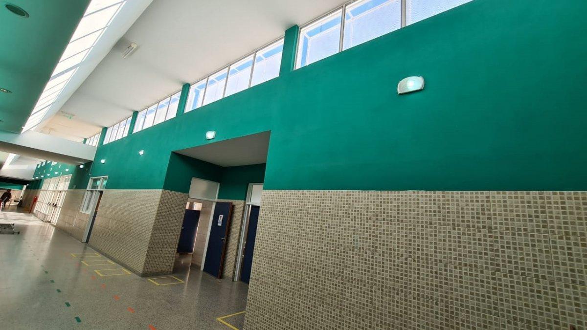 Provincia realiza refacciones en la Escuela N° 224 de Trelew