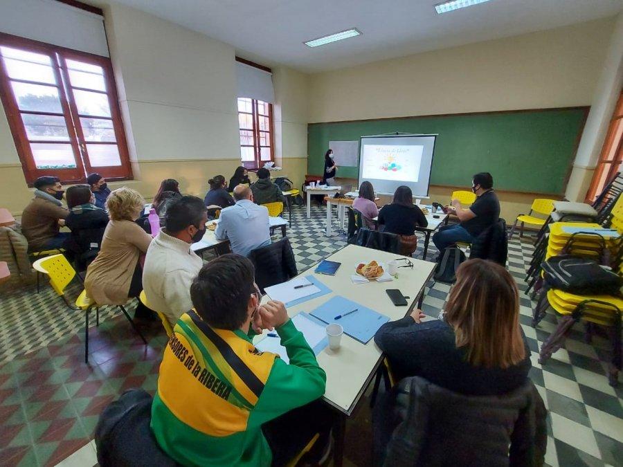 Rawson: El Ministerio de Salud de la Provincia realizó los primeros Talleres de Prevención de Consumos Problemáticos