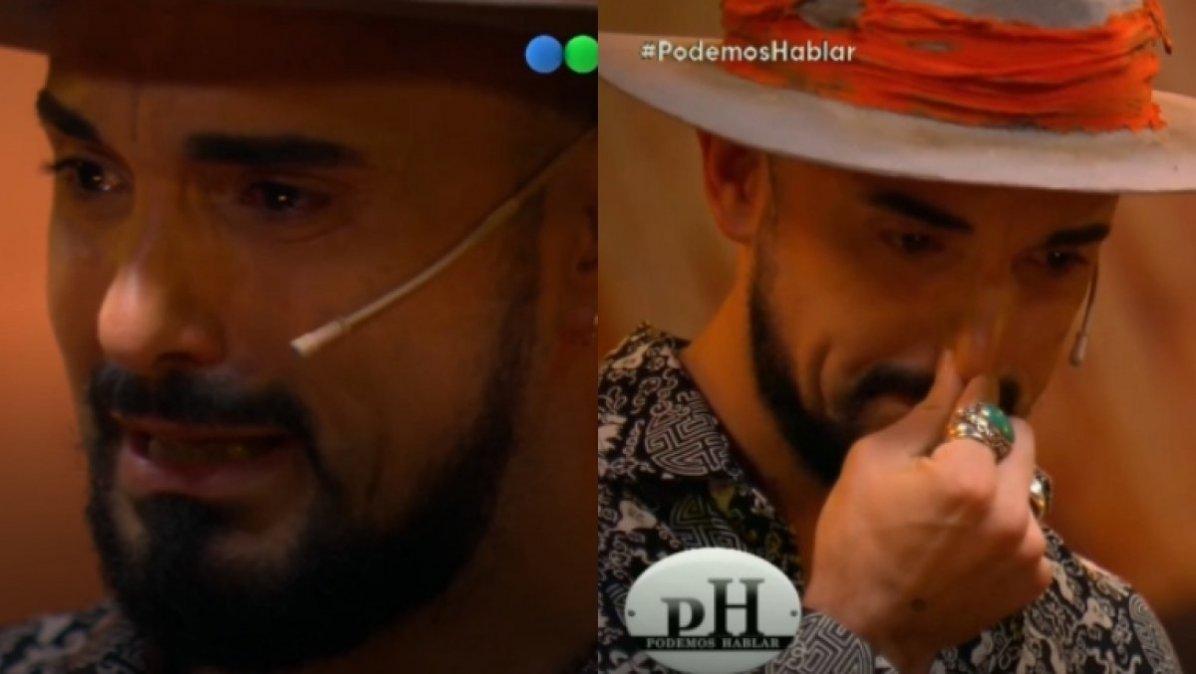 El desgarrador llanto de Abel Pintos en PH: No sabía decir te quiero