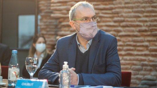 Fabián Puratich, ministro de Salud.