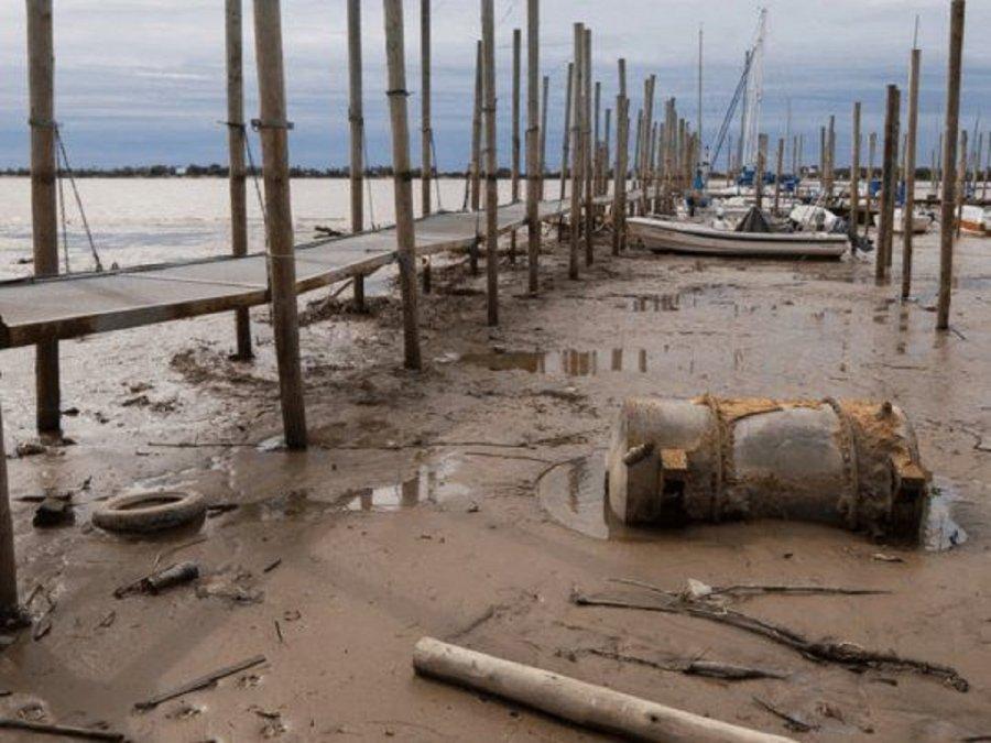 El Río Paraná volvió a bajar durante el fin de semana y se mantiene en niveles históricos